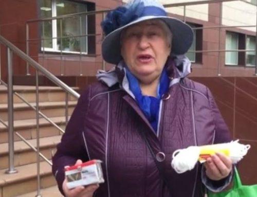 Новосибирская пенсионерка подарила министру веревку и мыло