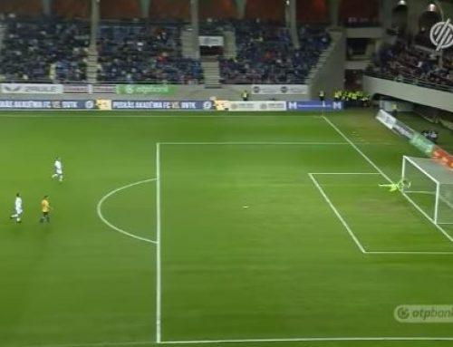 Венгерский футболист забил штрафной со своей половины поля