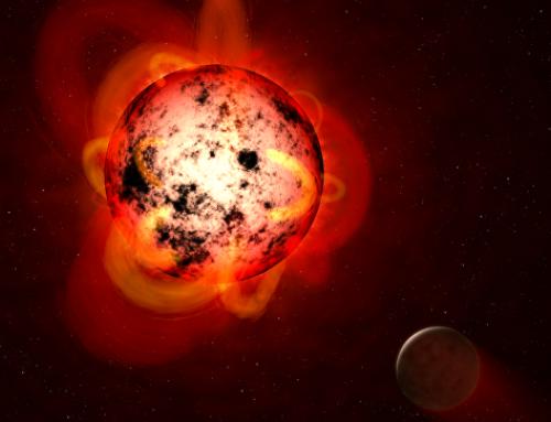 «Хаббл» зафиксировал супервспышку на соседней звезде