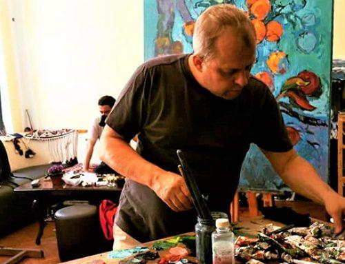 Евгений Ястребов: «В Азербайджане относятся к живописи очень эмоционально»