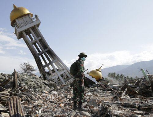 Число погибших от землетрясения в Индонезии превысило 2,1 тыс.