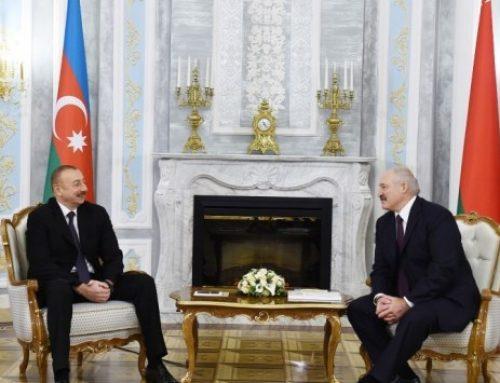 Cостоялась встреча президентов Азербайджана и Беларуси в формате один на один