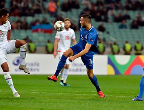 Азербайджан одержал победу над Фарерами