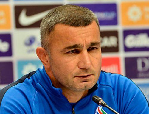 Гурбан Гурбанов: «Надеюсь, что справимся»