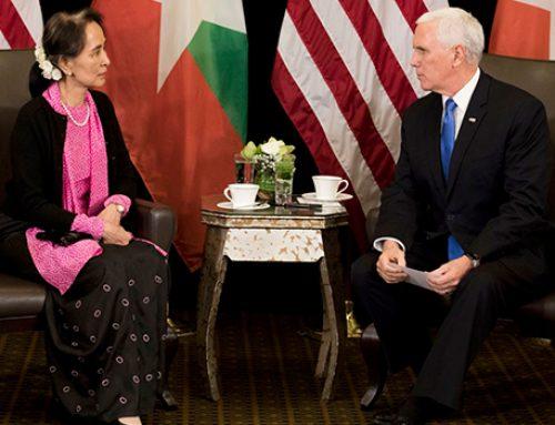 Майк Пенс осудил власти Мьянмы