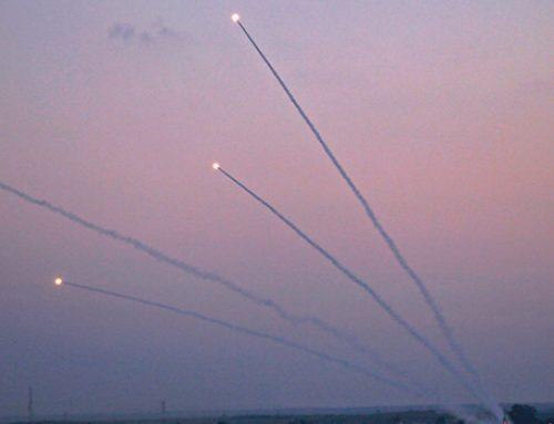Обмен ракетными ударами произошел между Израилем и сектором Газа