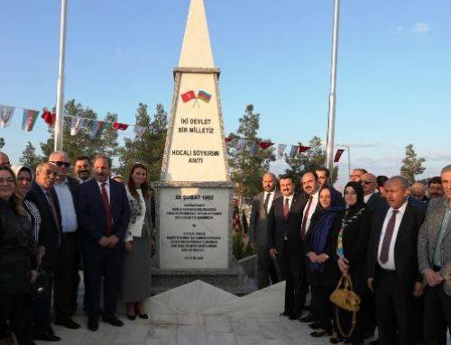В Турции открылся еще один памятник жертвам Ходжалинской трагедии