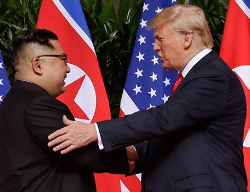 После нового года может состоятся встреча Трампа и Ына