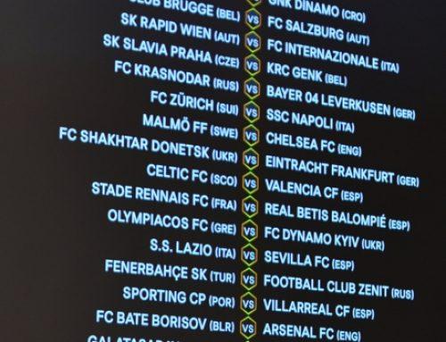 В Швейцарии огласили все пары соперников 1/16 финала Лиги Европы