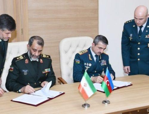 Госпогранслужбы Азербайджана и Ирана подписали протокол