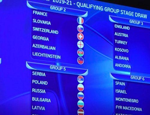 С кем сыграет Азербайджан в отборе на ЕВРО?