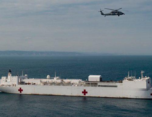 Плавучий госпиталь США против российских Ту-160